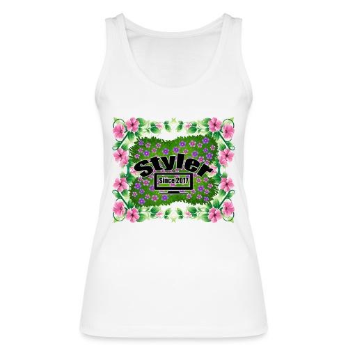 Styler Bloemen Design - Vrouwen bio tanktop van Stanley & Stella
