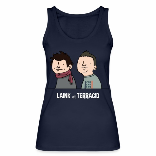 Laink et Terracid old - Débardeur bio Femme