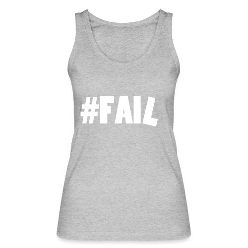FAIL / White - Débardeur bio Femme