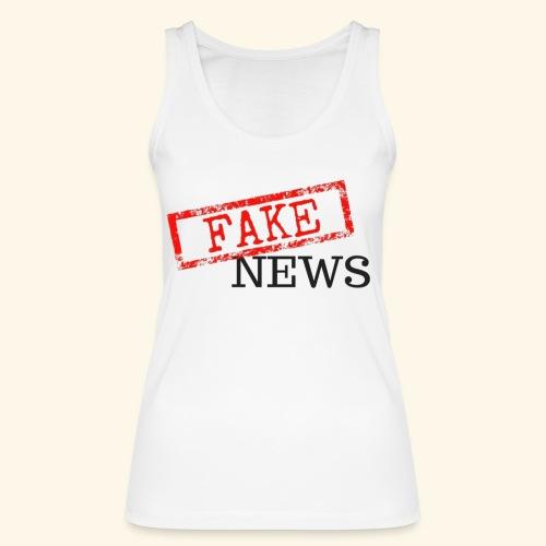 fake news - Women's Organic Tank Top by Stanley & Stella