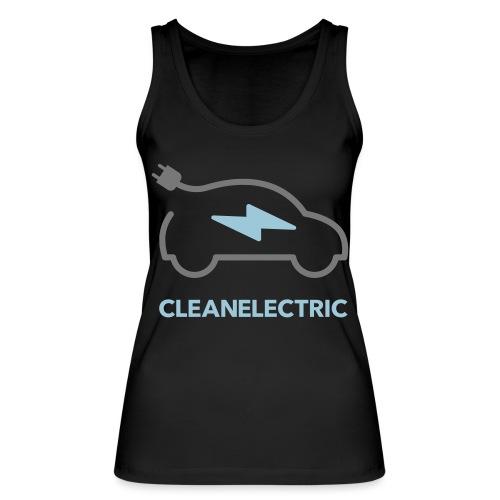 CLEANELECTRIC Logo - Frauen Bio Tank Top von Stanley & Stella