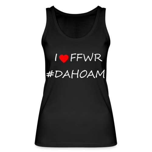 I ❤️ FFWR #DAHOAM - Frauen Bio Tank Top von Stanley & Stella