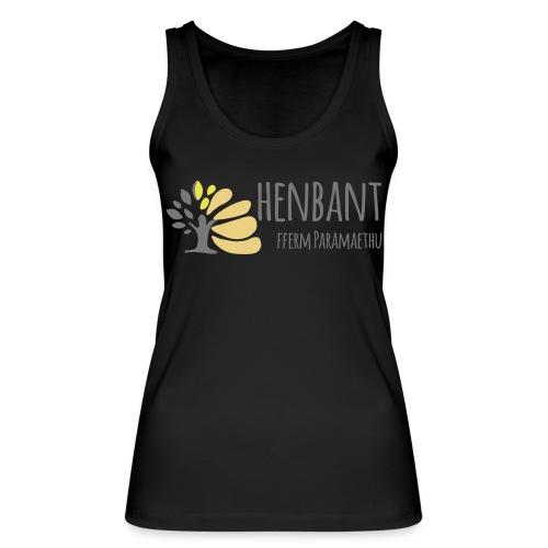 henbant logo - Women's Organic Tank Top by Stanley & Stella