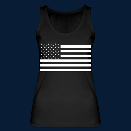 Stars and Stripes White - Frauen Bio Tank Top von Stanley & Stella