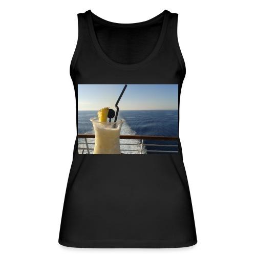 Cocktail Kreuzfahrt Meer Foto Schiff Ananas - Frauen Bio Tank Top von Stanley & Stella