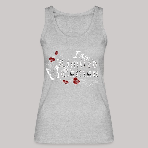 simply wild limited edition on black - Frauen Bio Tank Top von Stanley & Stella