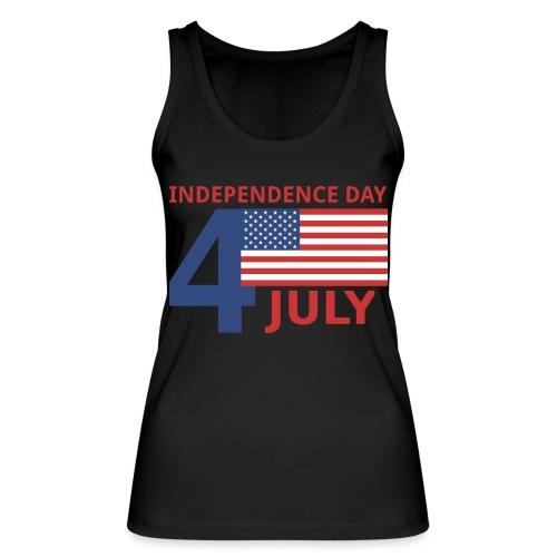 4 luglio giorno della indipendenza - Top ecologico da donna di Stanley & Stella