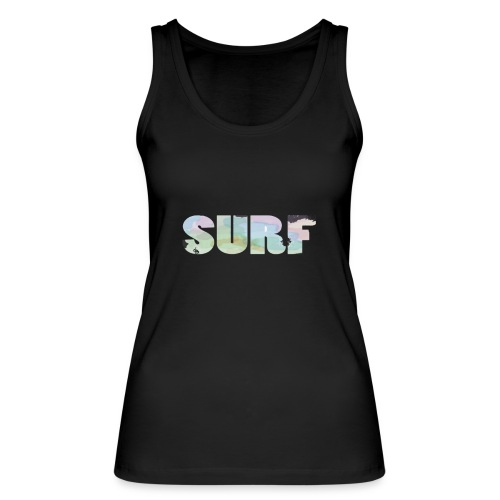 Surf summer beach T-shirt - Women's Organic Tank Top by Stanley & Stella