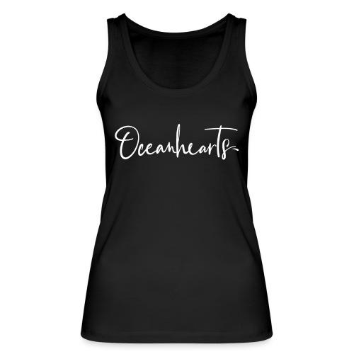 Oceanhearts Logo white - Frauen Bio Tank Top von Stanley & Stella