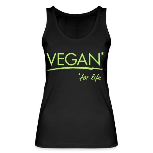 vegan for life 1c - Frauen Bio Tank Top von Stanley & Stella