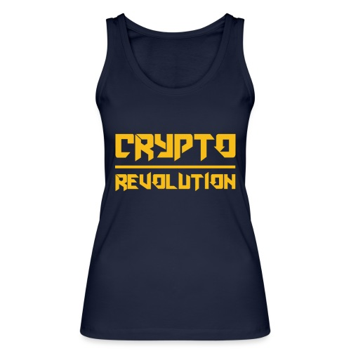 Crypto Revolution III - Women's Organic Tank Top by Stanley & Stella