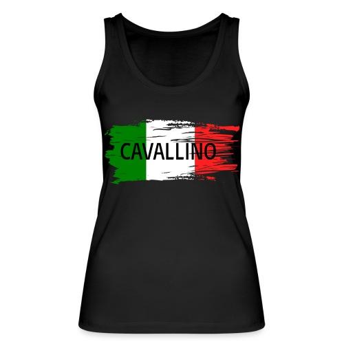 Cavallino auf Flagge - Frauen Bio Tank Top von Stanley & Stella