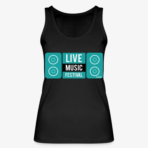 Amo la música - Camiseta de tirantes ecológica mujer de Stanley & Stella