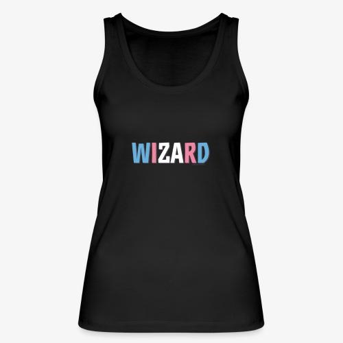 Pride (Trans) Wizard - Women's Organic Tank Top by Stanley & Stella