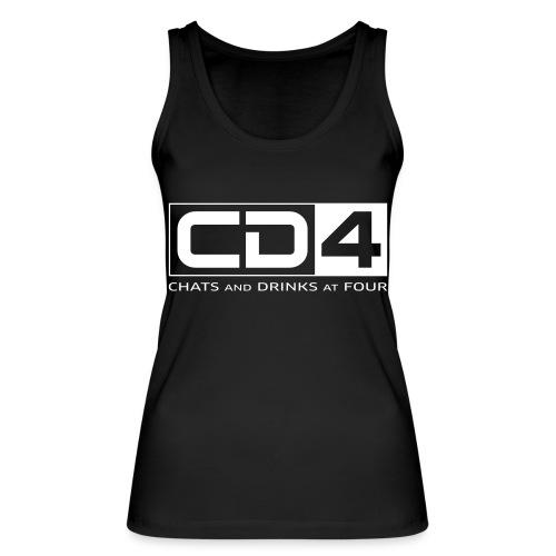 cd4 logo dikker kader bold font - Vrouwen bio tanktop van Stanley & Stella