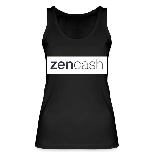 ZenCash CMYK_Horiz - Full - Women's Organic Tank Top by Stanley & Stella
