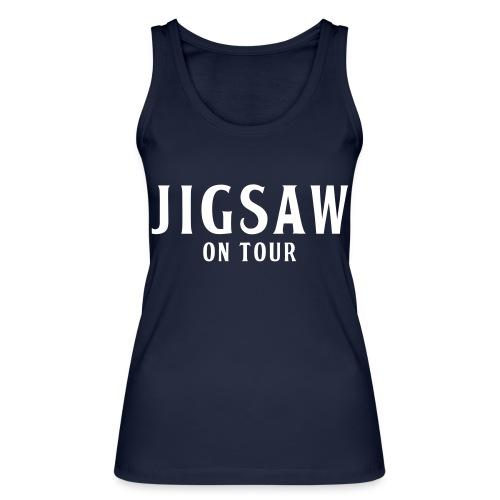 JigSaw On Tour White - Women's Organic Tank Top by Stanley & Stella