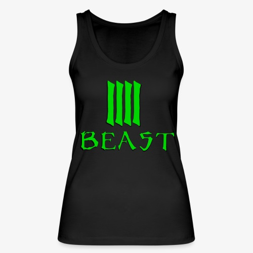 Beast Green - Women's Organic Tank Top by Stanley & Stella
