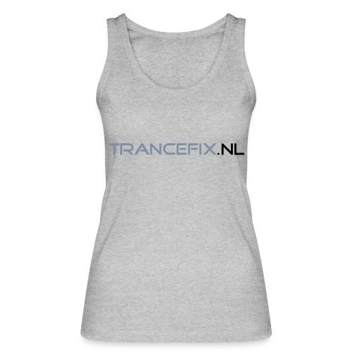 trancefix text - Women's Organic Tank Top by Stanley & Stella