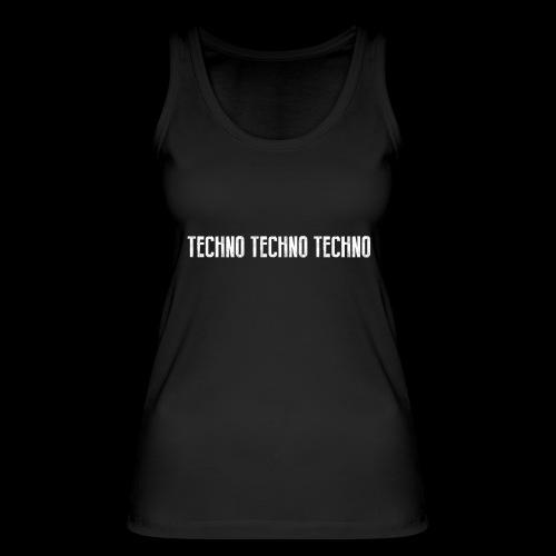 TECHNO TECHNO TECHNO - Women's Organic Tank Top by Stanley & Stella