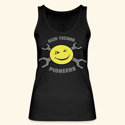 ACID TECHNO PIONEERS - SILVER EDITION - Women's Organic Tank Top by Stanley & Stella