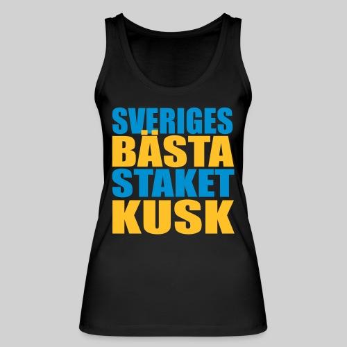 Sveriges bästa staketkusk! - Ekologisk tanktopp dam från Stanley & Stella
