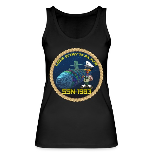 Command Badge SSN-1983 - Women's Organic Tank Top by Stanley & Stella