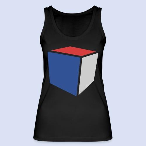 Cube Minimaliste - Débardeur bio Femme