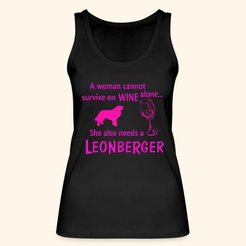Wine&Leonberger - Ekologisk tanktopp dam från Stanley & Stella