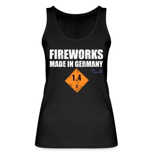 Feuerwerk aus Deutschland Pyrotechnik - Frauen Bio Tank Top von Stanley & Stella