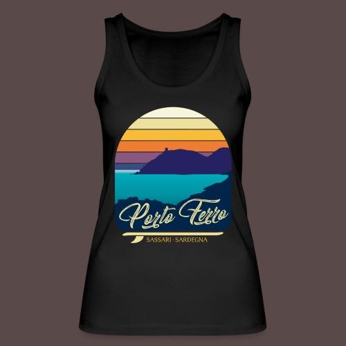 Porto Ferro - Vintage travel sunset - Top ecologico da donna di Stanley & Stella