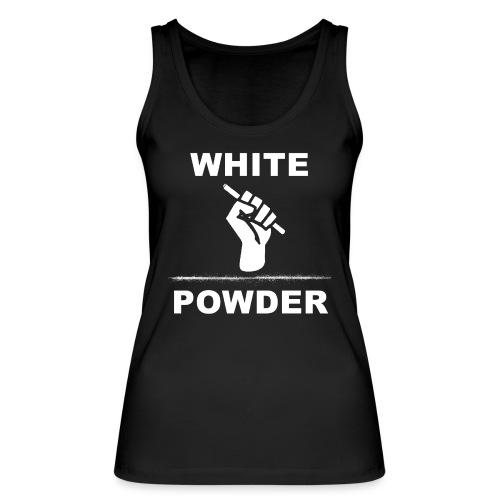 White Powder - Frauen Bio Tank Top von Stanley & Stella