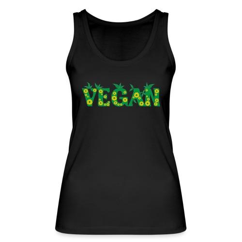 Vegan - Blumen - Frauen Bio Tank Top von Stanley & Stella