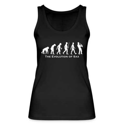 The Evolution Of Sax - Camiseta de tirantes ecológica mujer de Stanley & Stella