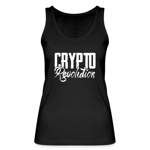 Crypto Revolution - Women's Organic Tank Top by Stanley & Stella