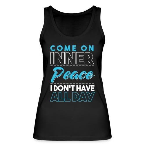 Inner Peace Meditation Funny Yoga Lover Gift - Frauen Bio Tank Top von Stanley & Stella