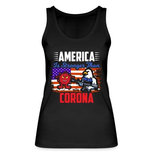 America against Corona - Frauen Bio Tank Top von Stanley & Stella
