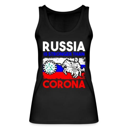 Russia against Corona - Frauen Bio Tank Top von Stanley & Stella