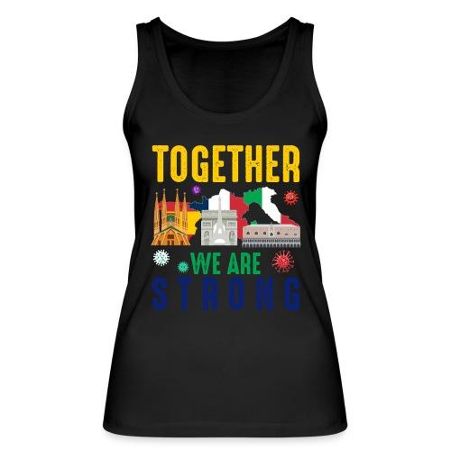 Together against Corona - Frauen Bio Tank Top von Stanley & Stella