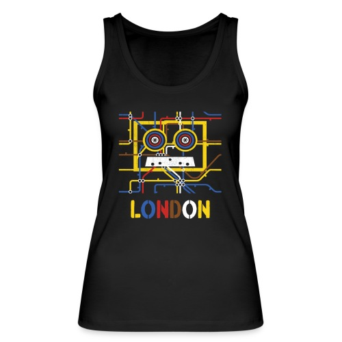 London Tube Map Underground - Frauen Bio Tank Top von Stanley & Stella
