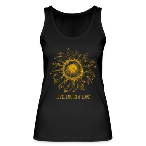 Sonnenblume Zeichnung - Frauen Bio Tank Top von Stanley & Stella