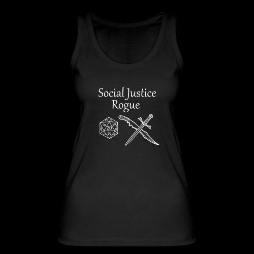 Social Justice Rogue - Women's Organic Tank Top by Stanley & Stella
