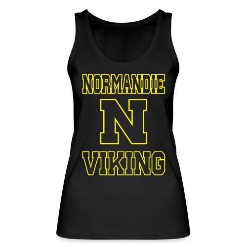 Normandie Viking Def jaune - Débardeur bio Femme