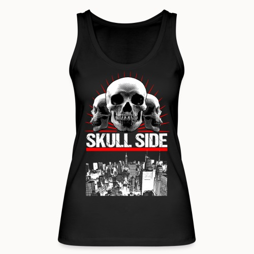 skull side city - Frauen Bio Tank Top von Stanley & Stella