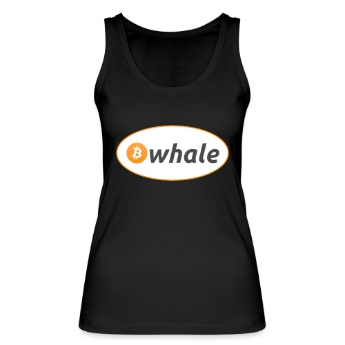 Bitcoin Whale - Women's Organic Tank Top by Stanley & Stella