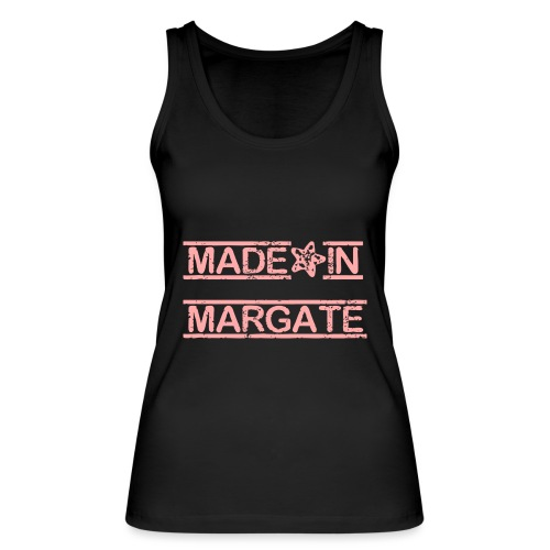Made in Margate - Pink - Women's Organic Tank Top by Stanley & Stella