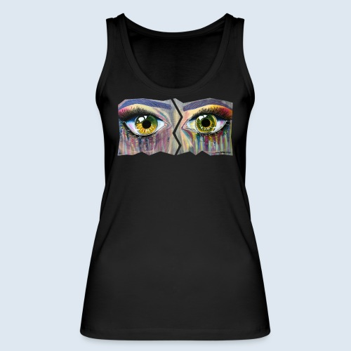 "Augenblick ""open eyes"" made in Berlin - Frauen Bio Tank Top von Stanley & Stella"