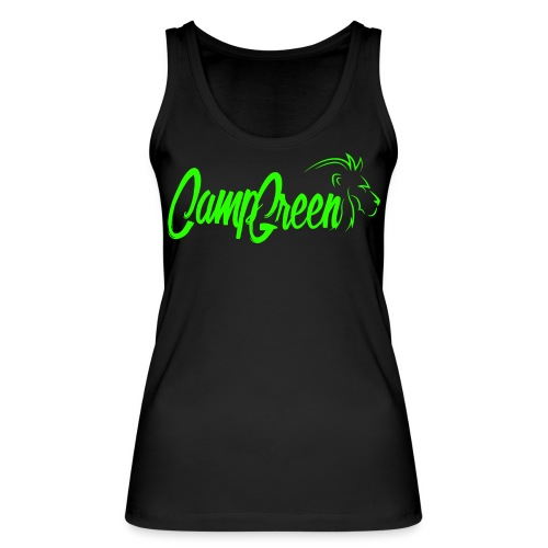 Camp Green Simple Logo Gr - Frauen Bio Tank Top von Stanley & Stella