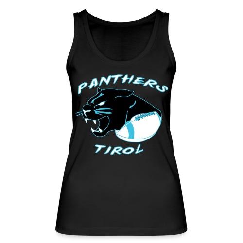 Panthers Logo 2014 Schriftzug Dark png - Frauen Bio Tank Top von Stanley & Stella