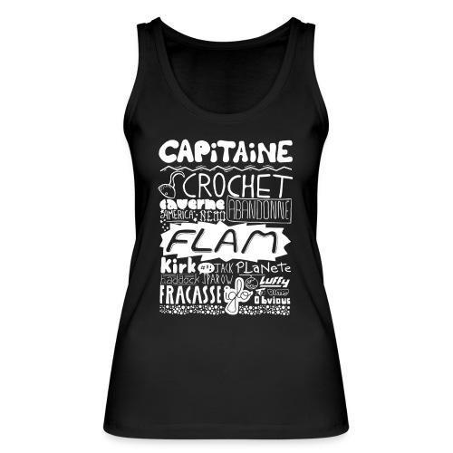 capitaine-blanc Tee shirts - Débardeur bio Femme